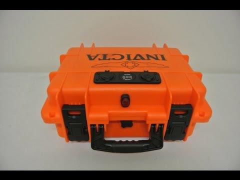 DIY Kayak Portable Waterproof 12V Battery Box Power Ports Gauges