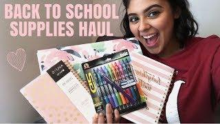 Back to School Supplies Haul! 2018