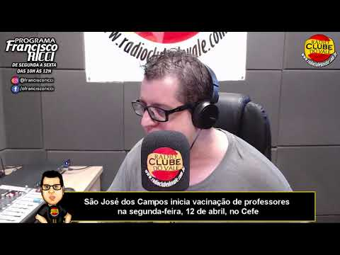 São José dos Campos inicia vacinação de professores na segunda-feira, 12 de abril, no Cefe