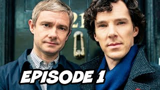 Sherlock Season 4 Episode 1 Easter Eggs - Benedict Cumberbatch is Back