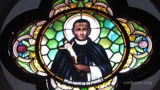 Ngày 03.11: Kính thánh Martin, tu sĩ Dòng Đa Minh - Vị thánh da đen con của một người nô lệ