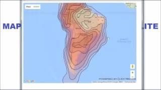 Mapa de Cobertura de Vários Satélites no Brasil