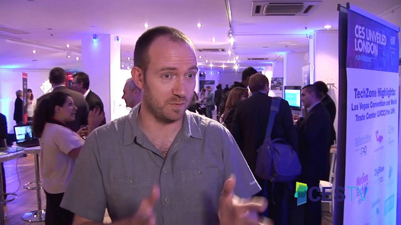 2014 CES Unveiled LONDON: Seth Barton