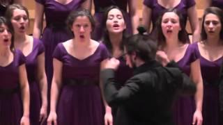 Jugendchor Bogazici Jazz Choir/Türkei: Nyon Nyon, EJCF Basel 2016