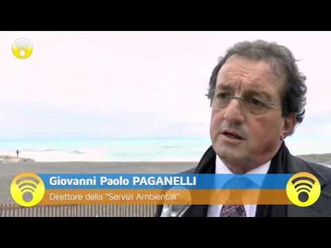 Pietra Ligure allacciata al depuratore di Borghetto Santo Spirito: video #1