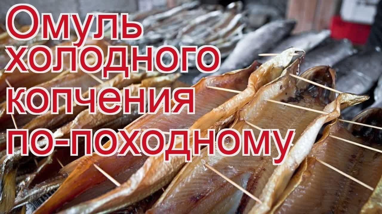 Рецепты из омуля - как приготовить омуля пошаговый рецепт - Омуль холодного копчения по-походному