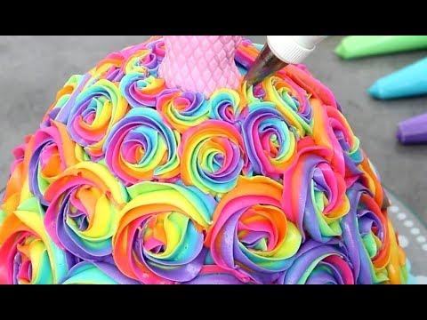 5 AMAZING Barbie Dress CAKES Tutorial | Cake Decorating  Ideas COMPILATION