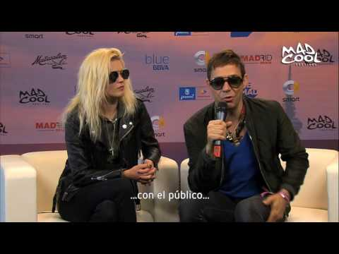 ENTREVISTA THE KILLS @MAD COOL FESTIVAL 2016