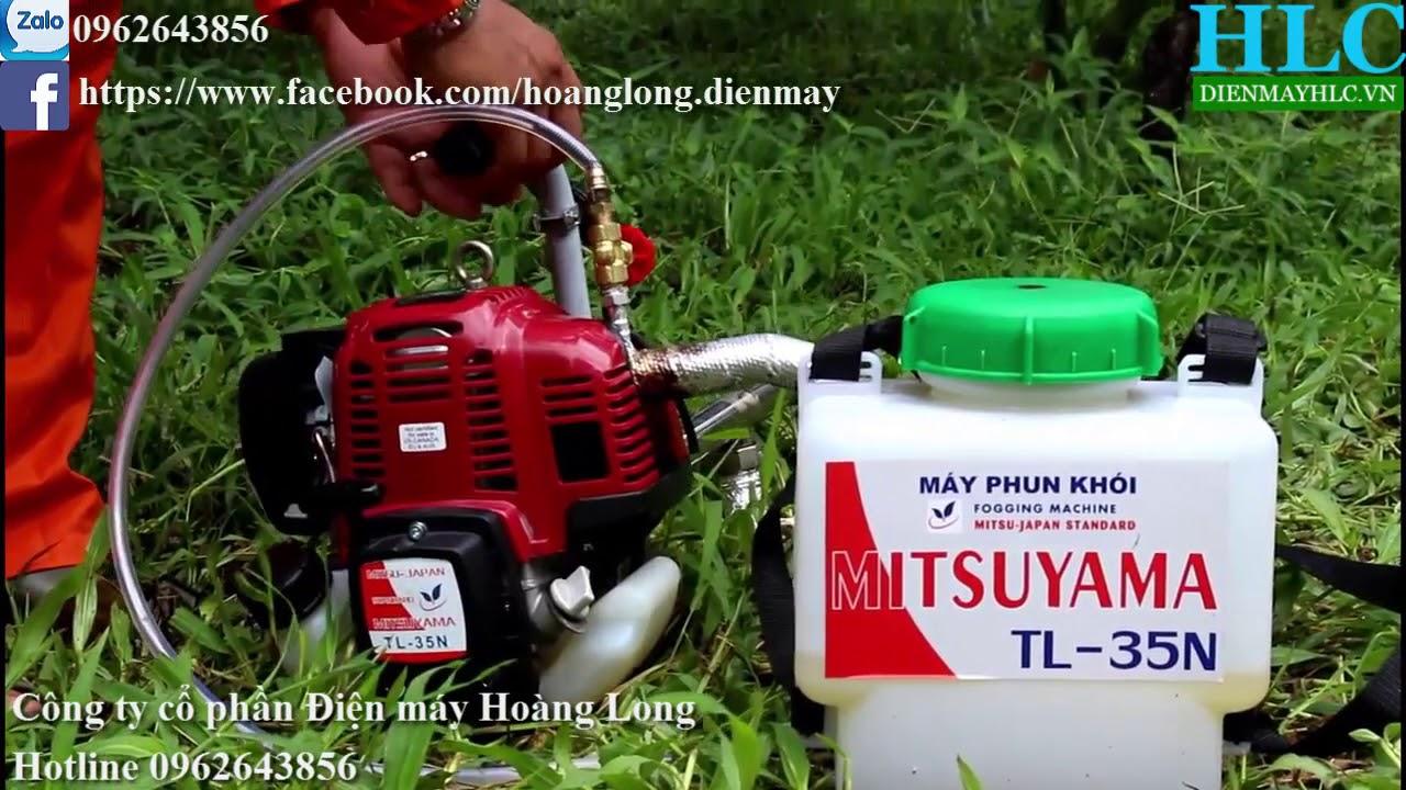 Máy phun khói diệt côn trùng mini Mitsuyama - lựa chọn hoàn hảo nhất của nhà vườn