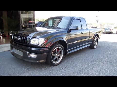 2004 Toyota Tacoma S-Runner TRD Supercharged w/550 hp Start Up, Exhaust, and In Depth Tour