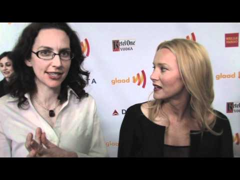 GLAAD AWARDS: Angela Featherstone & Michelle Paradise of EXES & OHS