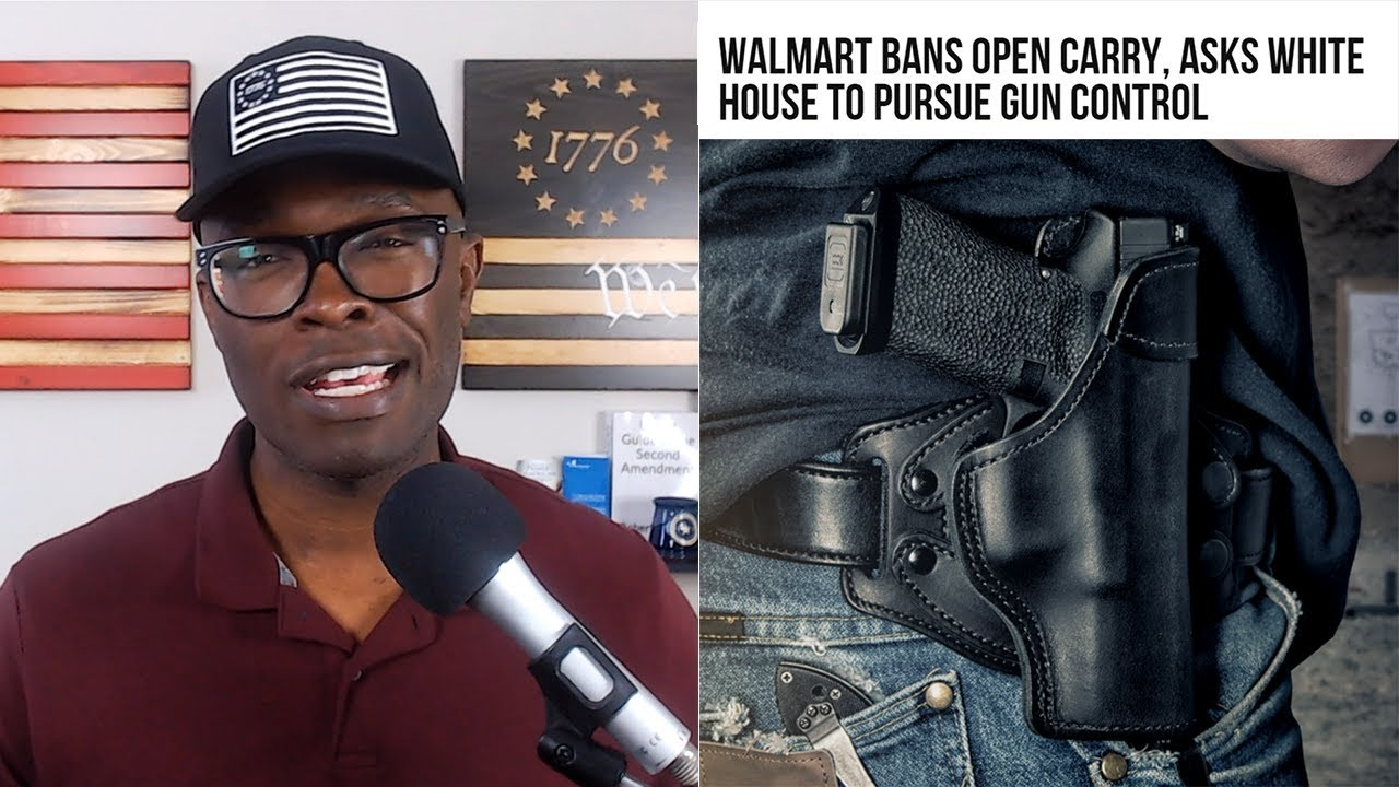 ABL No More OPEN CARRY in Walmart!