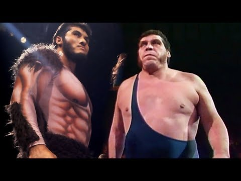 Andre the Giant vs Giant Gonzalez?  Who Didn't Andre Face? 👍👍👍👍
