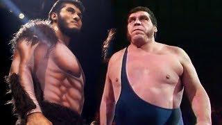 Andre the Giant vs Giant Gonzalez? - Who Didn't Andre Face? 👍👍👍👍
