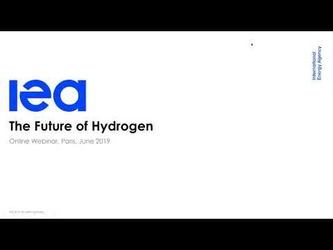 IEA Webinar: The Future of Hydrogen