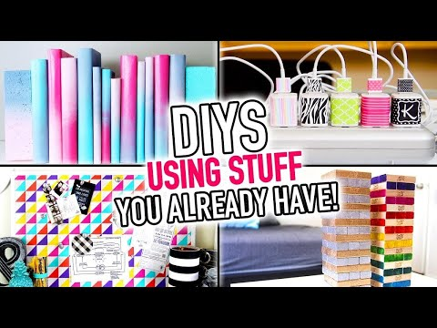 6 DIYS Using Stuff You Already Have Around Your House! ~ DIY Compilation Video – HGTV Handmade