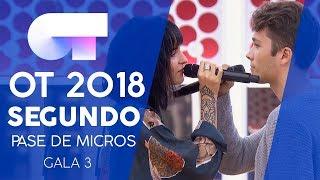 """LO SIENTO"" - DAMION y NATALIA | Segundo pase de micros Gala 3 | OT 2018"