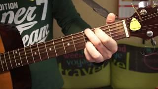 """Как играть """"Песня старого извозчика"""" - Утёсов (разбор на гитаре) видеоурок"""