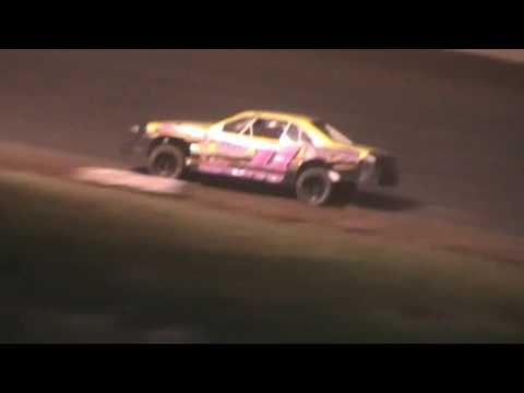 IMCA Stockcar Feature Shawano Speedway Shawano Wisconsin 6/25/16