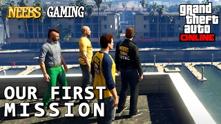 GTA 5 ONLINE - Our First Mission - Episode #2