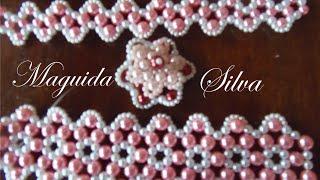 Chinelo Bordado – Renda Francesa – 5 Modelos por Maguida Silva
