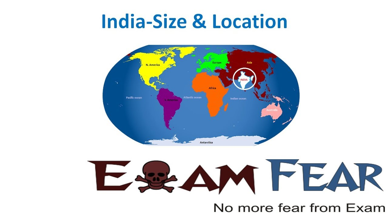 India Size and Location | Class 9 Social Science (SST) Geography | India  Size and Location