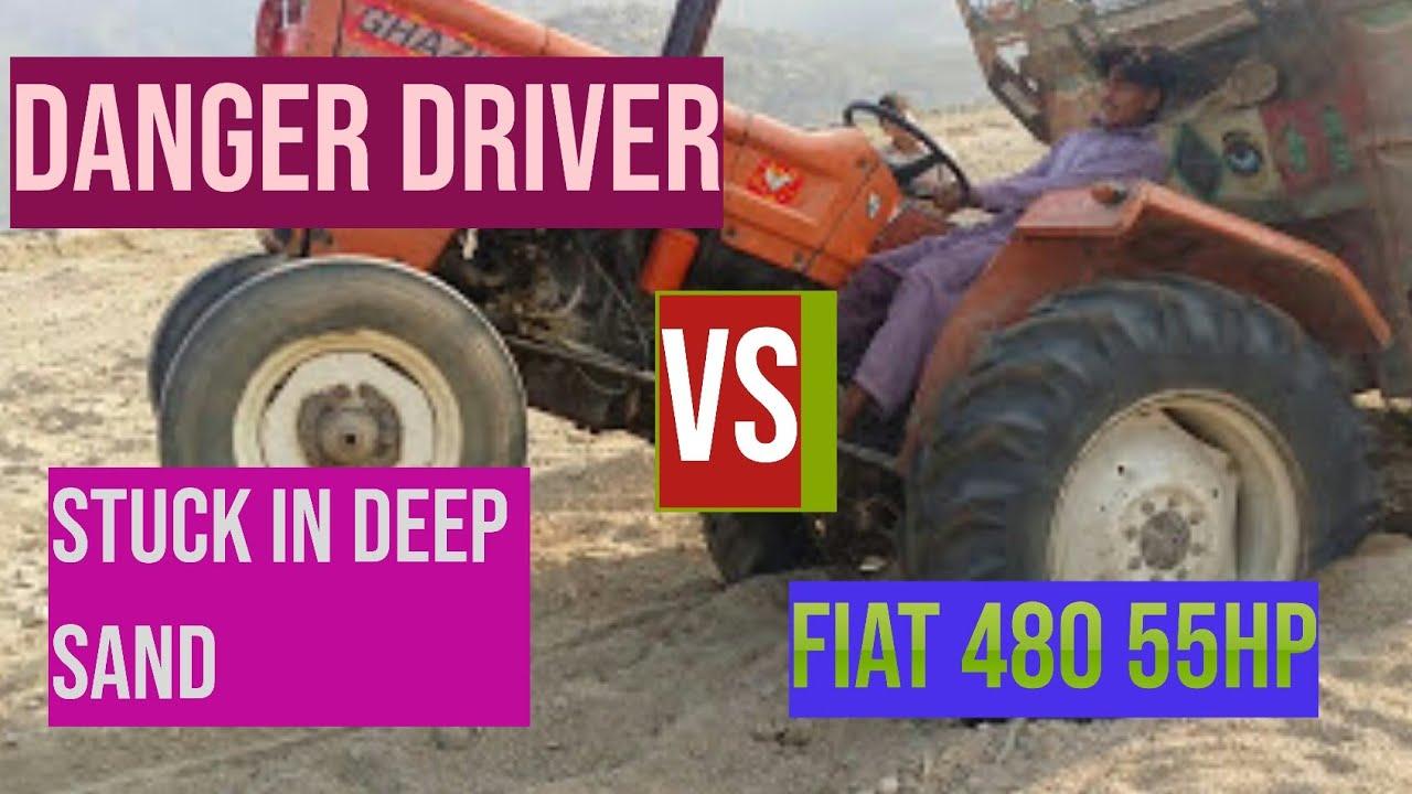 Sand Vs Al Ghazi Tractor Loaded Trolly