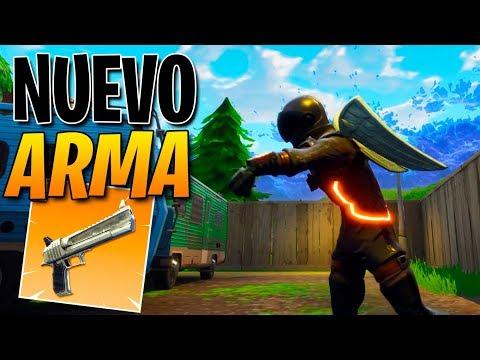 "*NUEVO* ARMA LEGENDARIA ""Pistola Pesada"" | Fortnite: Battle Royale"