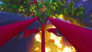 [Fortnite Creative] Coaster Xibalba (Rollercoaster) {code: 1512-7896-5422}