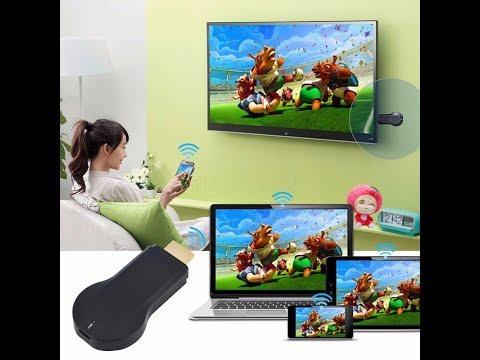 Подключение и настройка Kebidumei Wifi HDMI конектор THT022 для любого ТВ  Miracast, Airplay, DLNA
