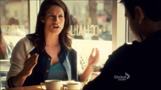 Rookie Blue - 5x08- Sam and Andy drink coffee