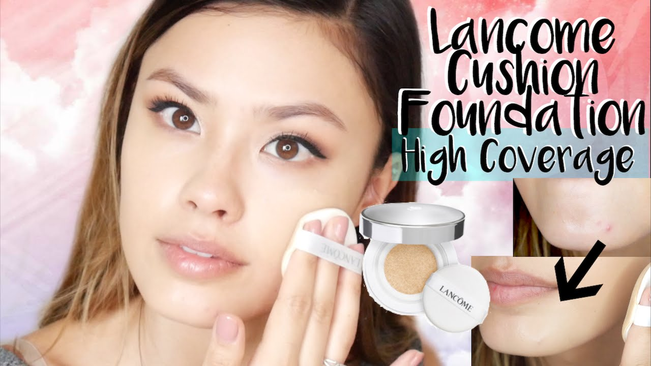 Lancome Blanc Expert High Coverage Cushion Foundation Review