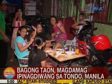 UB: Bagong Taon, magdamag ipinagdiwang sa Tondo, Manila