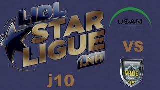 Nîmes VS Aix en Provence Handball LIDL STARLIGUE j10