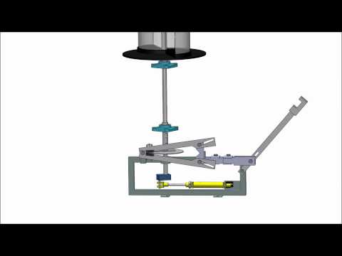 Savonius Wind Turbine Animation