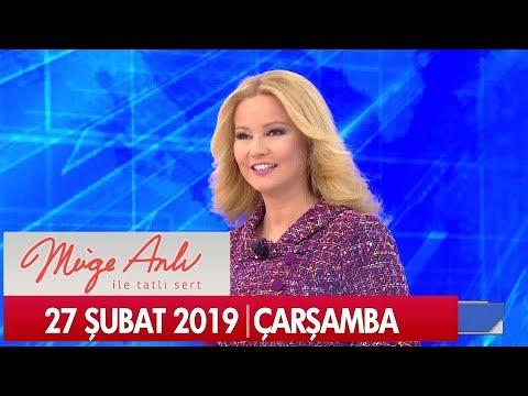 Müge Anlı ile Tatlı Sert 27 Şubat 2019 Çarşamba - Tek Parça
