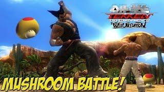 Tekken Tag Tournament 2: Wii U Edition! Mushroom Battle - YoVideogames