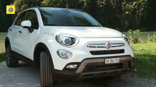 Fiat500X Cross Plus 4x4 - Test de voiture
