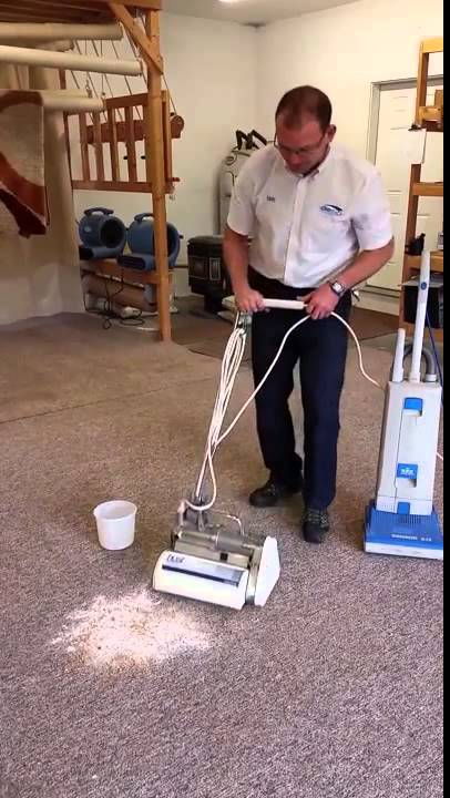 Host Dry Carpet Cleaning System Demonstrated By Clean N