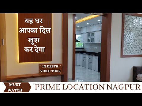 Touring Smart 2BHK with MARVELOUS Interior in Nagpur{Manish Nagar)  PRIME LOCATION   REALTY DIGEST  