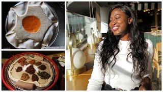 BEST EVER ETHIOPIAN FOOD TOUR! / Addis Ababa Travel Vlog