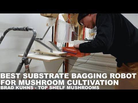 """Automated Farming Robot """"Double Bagger"""" Machine For Mushroom Substrates - Prototype For Small Farms"""