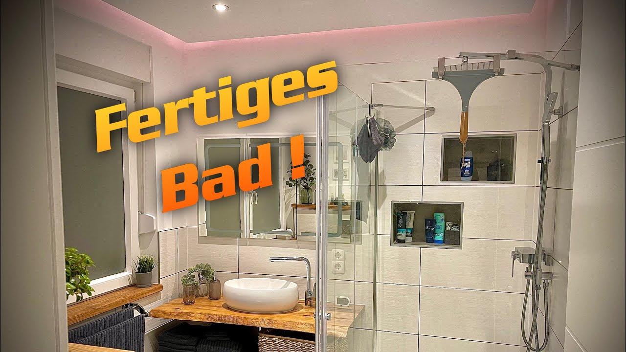 DH Das fertige Badezimmer / Trockenbau DIY