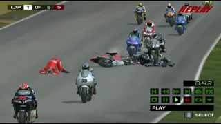 MotoGP 2 Best Crash Ever