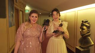 Olivier Awards with Mastercard - Best Actress - Backstage Reactions