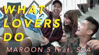 Video Maroon5 - What Lovers Do (Cover by Vidi Aldiano, Sheila Dara, Boy William) download MP3, 3GP, MP4, WEBM, AVI, FLV Maret 2018