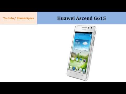 Huawei Ascend G615, Key points specs