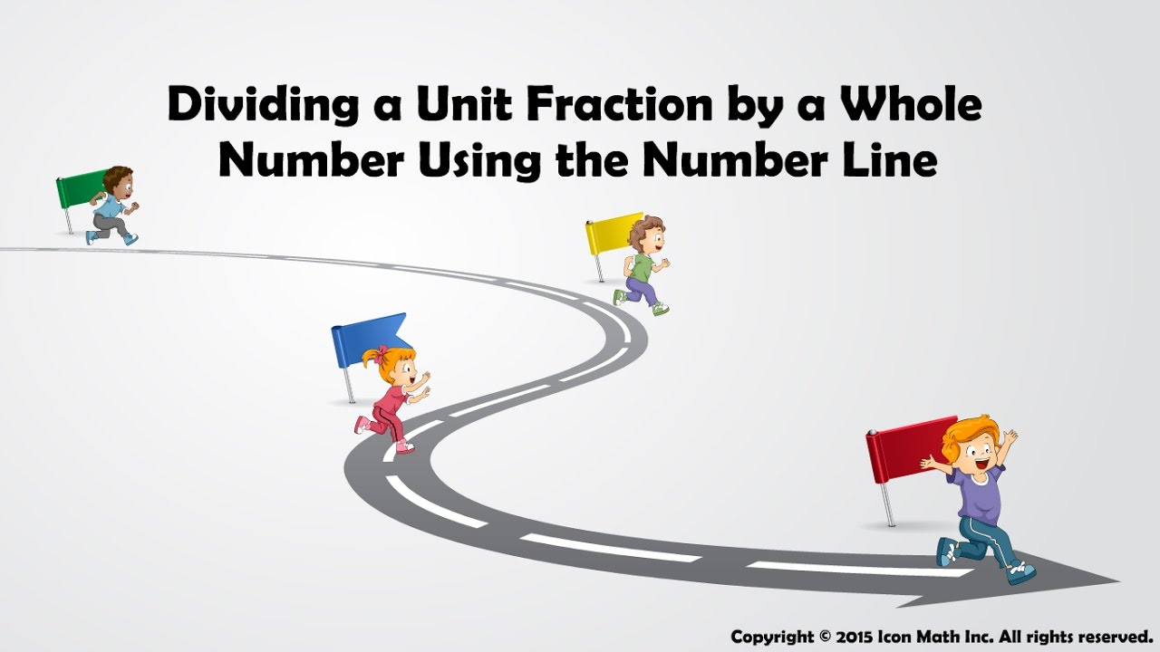 Dividing A Unit Fraction By A Whole Number Using The Number Line Dragon  With This Howto