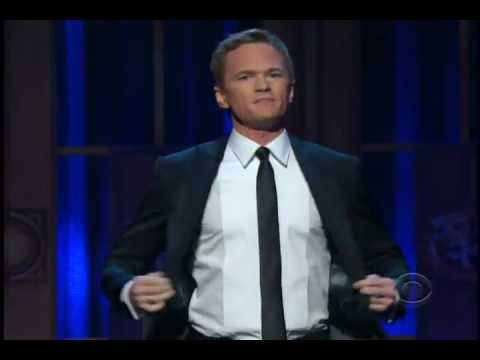 Neil Patrick Harris singing a medley of songs from Broadway Shows at 2012 Tony Awards