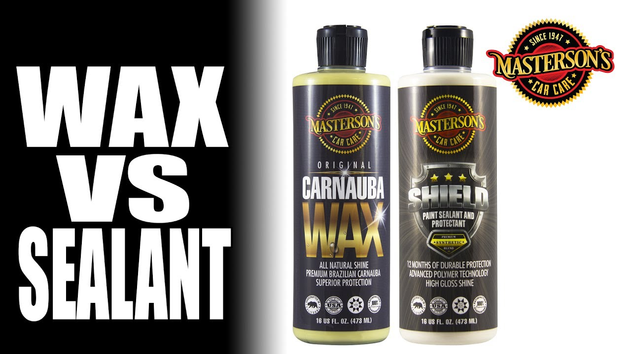 Wax vs Sealant - Which Is Better For Your Car - Masterson's Car Care
